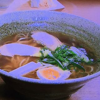 醸し醤油らーめん+発酵前菜盛(京都祇園 しょくどう 照)