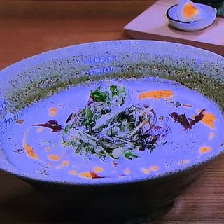 発酵豆乳白湯らーめん+発酵前菜盛(京都祇園 しょくどう 照)