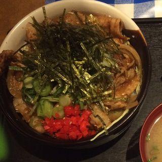 生姜焼き丼(おきばり屋 (【旧店名】きばらんと))