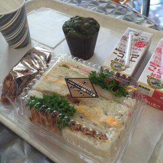 オランジェ、ラブサンド、抹茶マフィン(ばーすでい 利府菅谷台本店 (BIRTHDAY))
