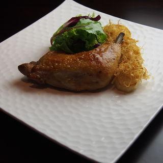 若鶏のコンフィ(YAKITORI 燃 )