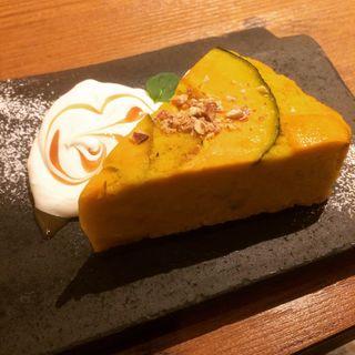 カボチャのケーキ(kawara CAFE&DINING 新宿東口 (カワラ カフェアンドダイニング))