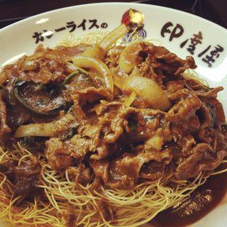 カレー風味の皿うどん(印度屋 京橋店 (カレーライスノインドヤ))
