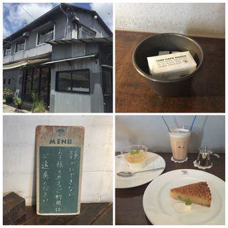ケーキ・アイスミルクティ(1988 CAFE SHOZO (カフェショウゾウ))