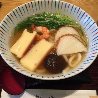 しっぽくうどん(道頓堀今井)