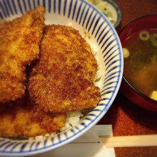 ソースカツ丼(福そば本店)