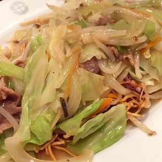 皿うどん(食堂英々 (ショクドウハナハナ))