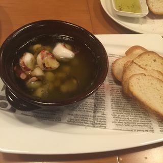 蛸と小柱のオイル煮(チコリ (Cicoria))