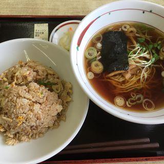 チャーハン特別定食 醤油
