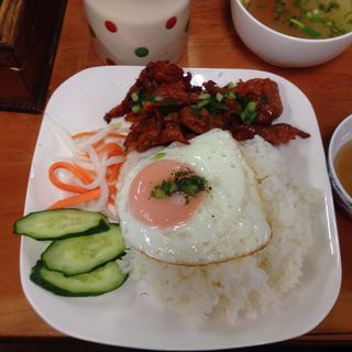 豚の焼肉のせご飯(タンハー )