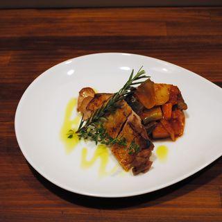 豚肉のグリル(Nプラスカフェ)