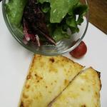 クロックムッシュ グリーンサラダ添え(中国料理 「王朝」 ヒルトン大阪 (オウチョウ))