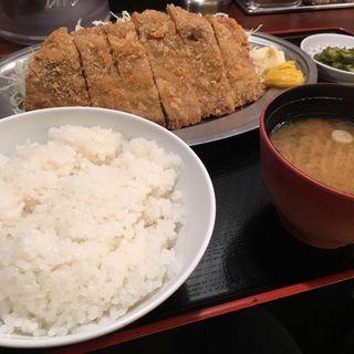 牛カツ定食(はるか 秋葉原店 )