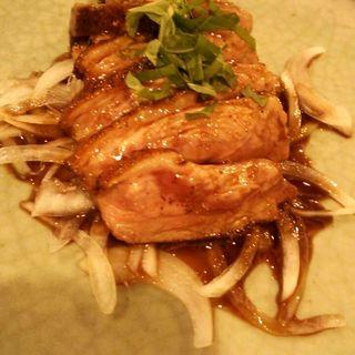 合鴨ロースのステーキ(活魚と旨い肉 わが家 )