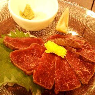 神戸牛の炙りたたき(活魚と旨い肉 わが家 )
