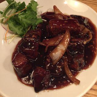 やわらか肉の黒酢すぶた~黒酢サングリアソース~(中華naきもち (チュウカナキモチ))