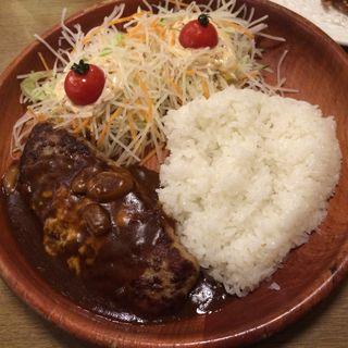 チーズインハンバーグパケットディッシュ(びっくりドンキー 大村店 )