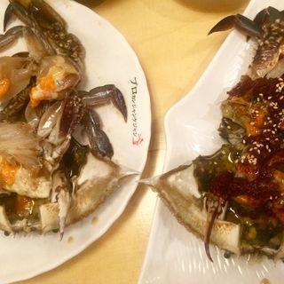 【渡り蟹料理】(プロカンジャンケジャン 赤坂店 )