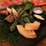 釜焼き野菜