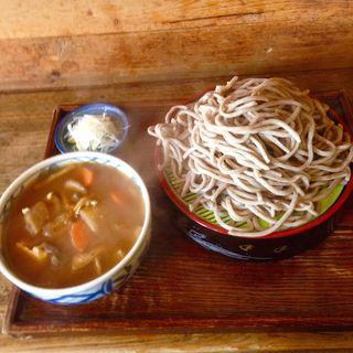 けんちんざる蕎麦(黄門そば (こうもんそば))