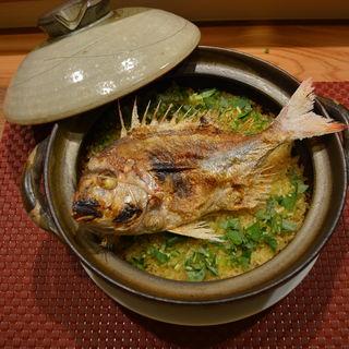 瀬戸内天然鯛の土鍋ご飯(ながとも )