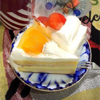 シースケーキ&イチゴのショートケーキ(イタリアントマトカフェジュニア イオン大村SC店 )