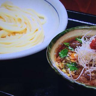 オリーブ牛のつけ麺(うどん棒 大阪本店 )