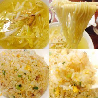 たんめん焼飯(中華料理 鉄人 )