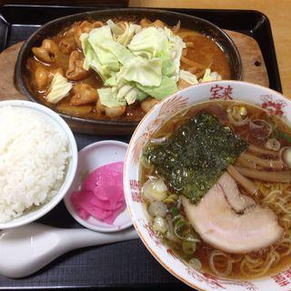 いつもの定食(定食・ラーメン ファミリー食堂 宝来 (ほうらい))