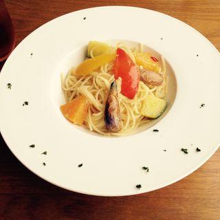 鎌倉野菜のジンジャーペペロンチーノ(toi toi toi)