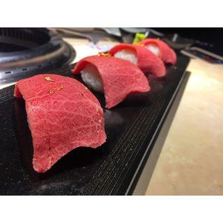極 和牛握り (牛の達人 西新宿店 (ギュウノタツジン))