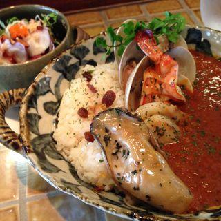 シーフードカレー(寿シーフード (seafood))