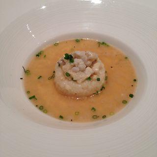鯛のリゾット スープ仕立て(アルブーコ )