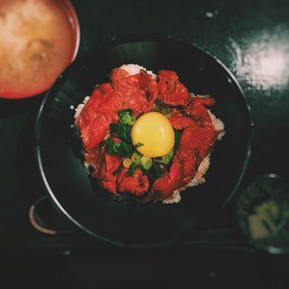 近江牛のプレミアム牛丼(花殿 梅田茶屋町 )