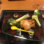 牡蠣フライとキッシュ(仁 )
