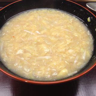 濃厚卵スープ(蔵六鮨 三七味 )