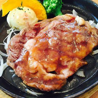 国産ビーフステーキセット(洋食 森卯亭 )