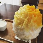 ヨーグルト練乳 パイン&マンゴー