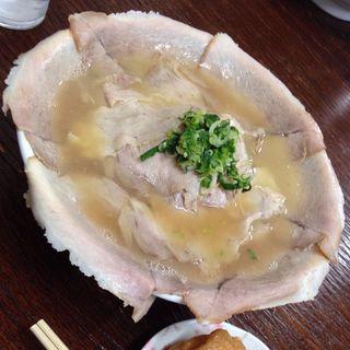 大盛チャーシュー麺固め(紅蘭)