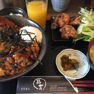 焼鳥丼定食(鶏吉 (トリヨシ))