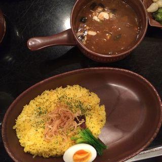 挽肉と野菜のカレー(ビストロ 喜楽亭 (ビストロキラクテイ))