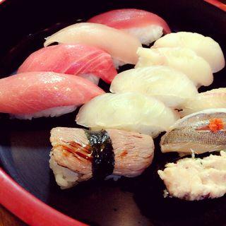 三崎まぐろランチセット(廻転寿司 海鮮)