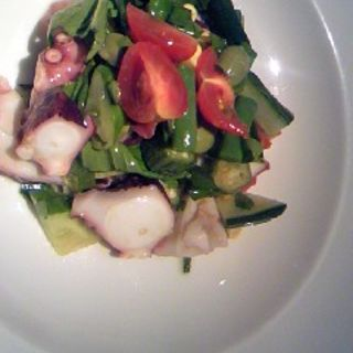 真ダコと有機野菜のサラダ仕立て(オルティージャ (ORTIGIA))