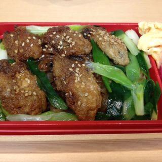 牡蠣のすき焼き弁当(柿安ダイニング 新宿伊勢丹店 (Kakiyasu Dining))