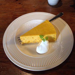 かぼちゃのチーズケーキ(本町一丁目カフェ )
