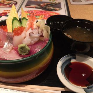 海鮮丼(杜の都寿司田 仙台駅ビル店 (すしでん))