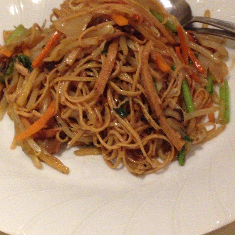 大豆麺で台湾やきそば