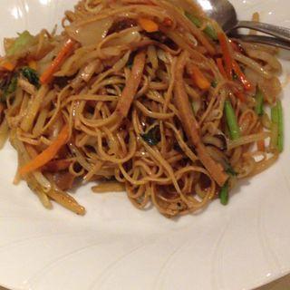 大豆麺で台湾やきそば(健福 )