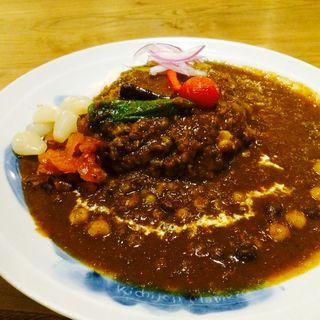 豆まめカレー(まめ蔵 (マメゾウ))