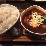 チキン(スープカレー屋 鴻 神田駿河台店 (スープカレーヤ オオドリー))